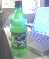 Vault Soda Bottle